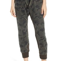 James Perse Contrast Waist Camo Jogger Pants | Nordstrom
