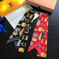 LV new trend wild newest double-layer hair band