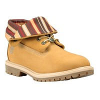 Timberland - Women's Timberland Authentics Striped Roll-Top Boot