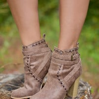 Beverly Thrills Booties: Milk Chocolate