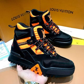LV LOUIS VUITTON Sneakers Sport Shoes Sports Running