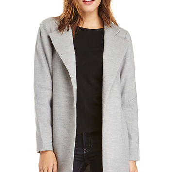 DailyLook: The Fifth Label Furthest Thing Coat in Light Grey S - M