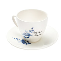 Mother Fucker Teacup and Saucer
