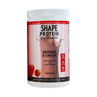 Shape Protein Powder - Women Berries and Cream - 10.2 oz