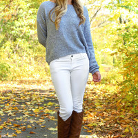 Silver Moonshine Sweater