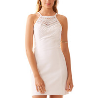 Lilly Pulitzer Pearl Lace Neck Shift Dress