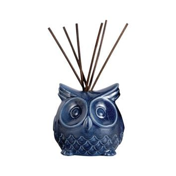 Owl Reed Diffuser In Deep Blue Deep Blue
