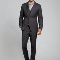 The Foundation Suit Slim - Charcoal