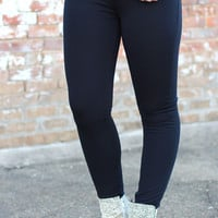 Articles of Society: Mya Skinny Jegging {Pure Black}