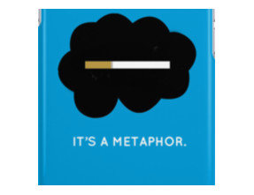 It's a metaphor. iPhone Cases & Skins