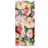 """Dawid Roc """"Pastel Rose Romantic Gifts"""" Green Photography Luxe Rectangle Panel"""