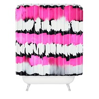 Rebecca Allen Glamour Spill Shower Curtain