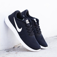 Nike Free RN flyknit Women Fashion Casual Sports Shoes Black