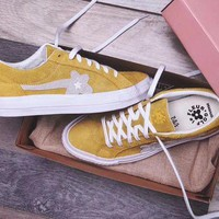 VOND4H Converse one star X Golf Le Fleur 'Yellow' Sneaker