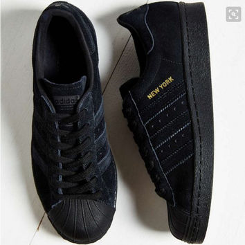 Adidas Originals Superstar City Pack Sneaker Black