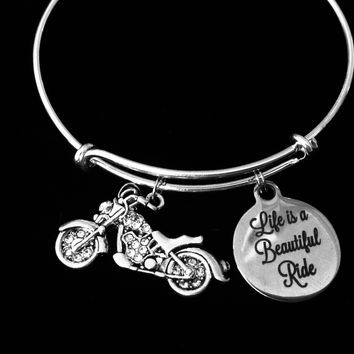 Biker Stainless Steel Charms Love to Ride BFS2279 Quantity Options