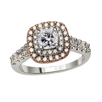 Peony Ready for Love Diamond Engagement Ring Steven Singer Jewelers