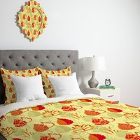 Rosie Brown Autumn Splendor Duvet Cover