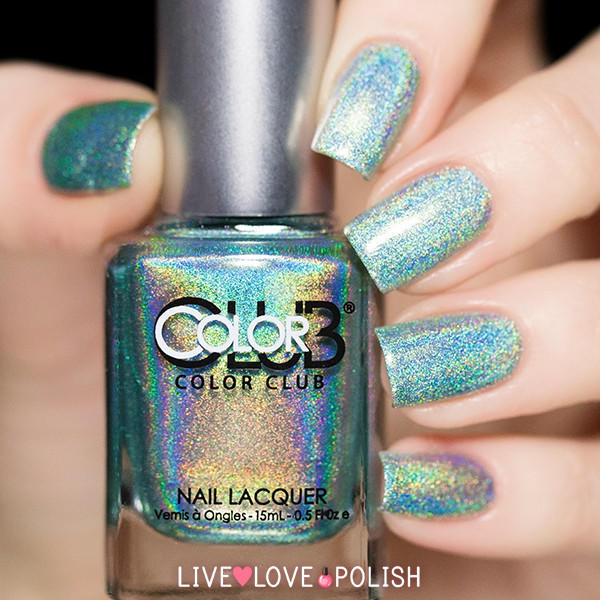 Who Sells Color Club Nail Polish: Color Club Angel Kiss Nail Polish (Halo From Live Love Polish