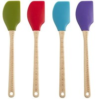 Silicone Spatulas with Pyrographic Handles
