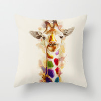 Colorful day Throw Pillow by beart24