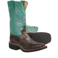 Justin Boots Vintage Goat Cowboy Boots - J-125 Square Toe (For Women) - Save 40%