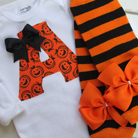 Newborn Baby Girl Outfit for Fall and by DarlingLittleBowShop