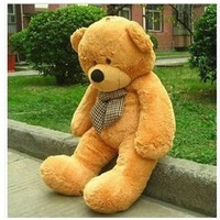 "Classic Quality Light Brown Quality 47"" Giant Huge Cuddly Teddy Bear Toy Doll Soft Plush Stuffed Animal Xmas Gift"