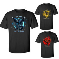 2016 hot pokemon go t shirt tee homme male pokemon tshirt shirts high quality black color size M-XXL