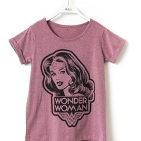 WONDERED Wonder Woman T-Shirt