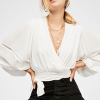 Dream Girl Wrap Top