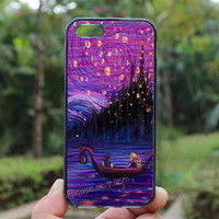 the lantern scene,Tangled the lights Art ,iphone 4 case,iPhone4s case, iphone 5 case,iphone 5c case,Gift,Personalized,water proof
