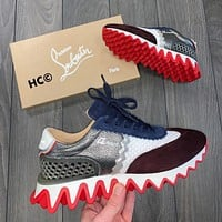 CHRISTIAN LOUBOUTIN Flats Shoes Sneakers Sport Shoes