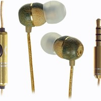 Skullcandy Holua S2HLBZ-DZ Earbuds (Gold) (Discontinued by Manufacturer)