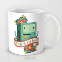 BMO | CHECK PLEASE Mug by Daniel Mackey | Society6