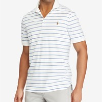 Polo Ralph Lauren Men's Striped Classic Fit Soft-Touch Polo Men - Polos - Macy's