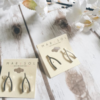 Wishbone Earrings