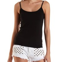 Seamless Spaghetti Strap Cami by Charlotte Russe