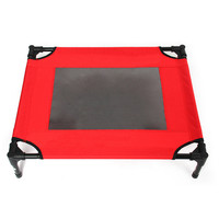 Pet Tent Camp Bed Outdoor Foldable   red   S