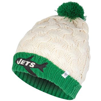 New York Jets - Matterhorn Large Weave Knit Beanie