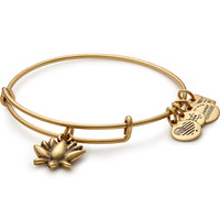 Lotus Blossom Charm Bangle | Women & Infants Hospital