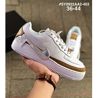 Nike Air Force 1 Jester AF1 revolutionary hook casual sports shoes White