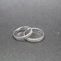 2pcs-Free Engraving,Zircon Ring,Lovers rings, promise ring,couple Rings,ring for couples