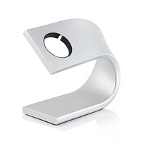 Apple Watch Stand and Charging Dock Station (Silver)