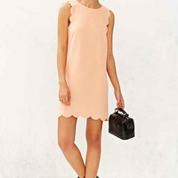 Cooperative Scallop Shift Dress-