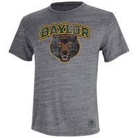 Baylor Bears adidas Originals Triblend T-Shirt – Gray
