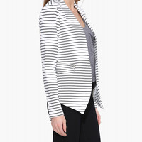 Striped Long Sleeve Jacket