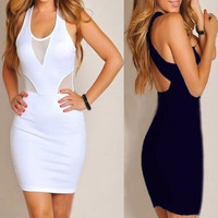 Sexy hollow out tight dress MY0019FY