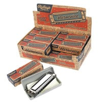 Ridley's House of Novelties Vintage Style Harmonica with Case