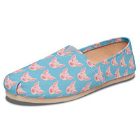 Pig Pattern Casual Shoe